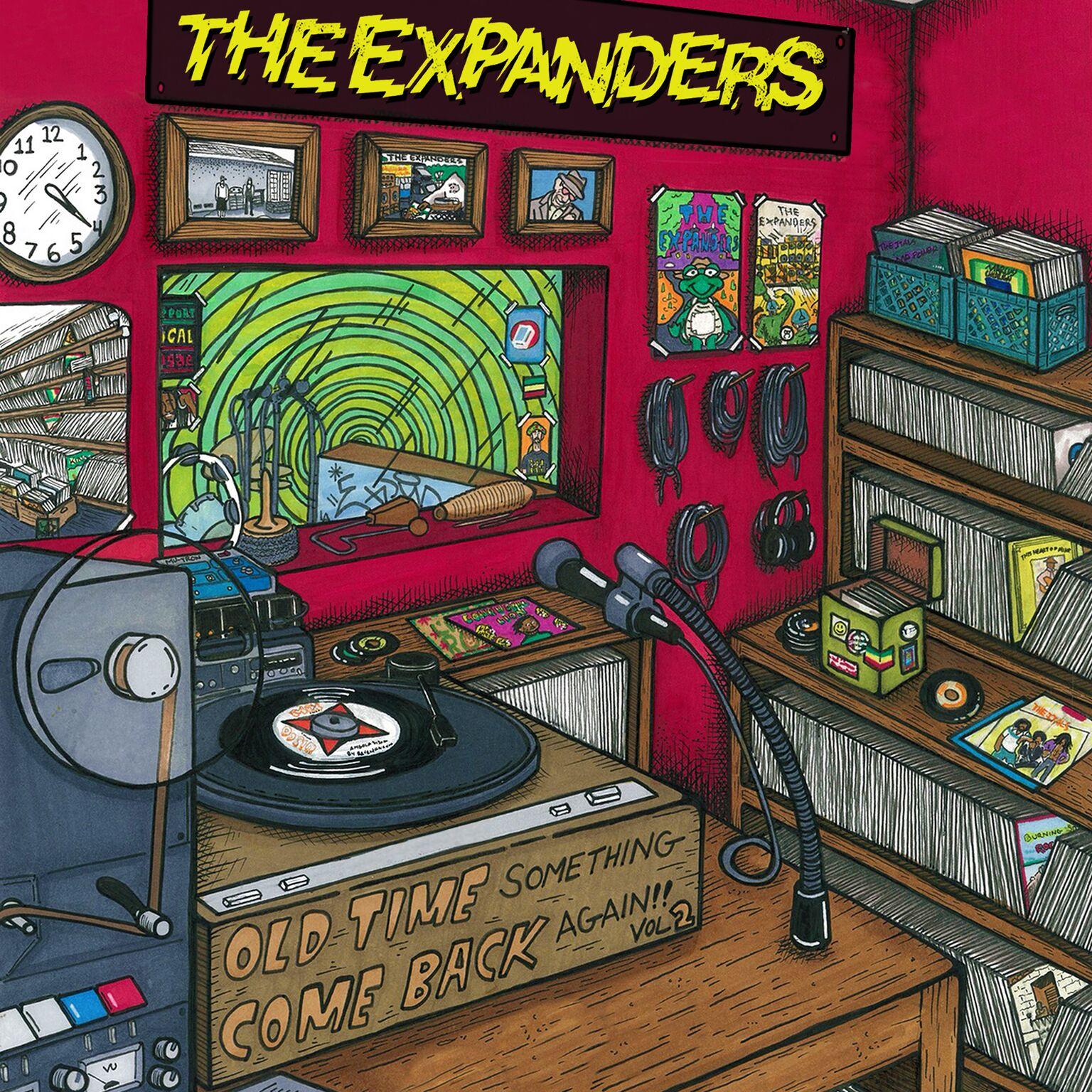 The Expanders Drop New Album, Old Time Something Come Back Again, Vol. 2
