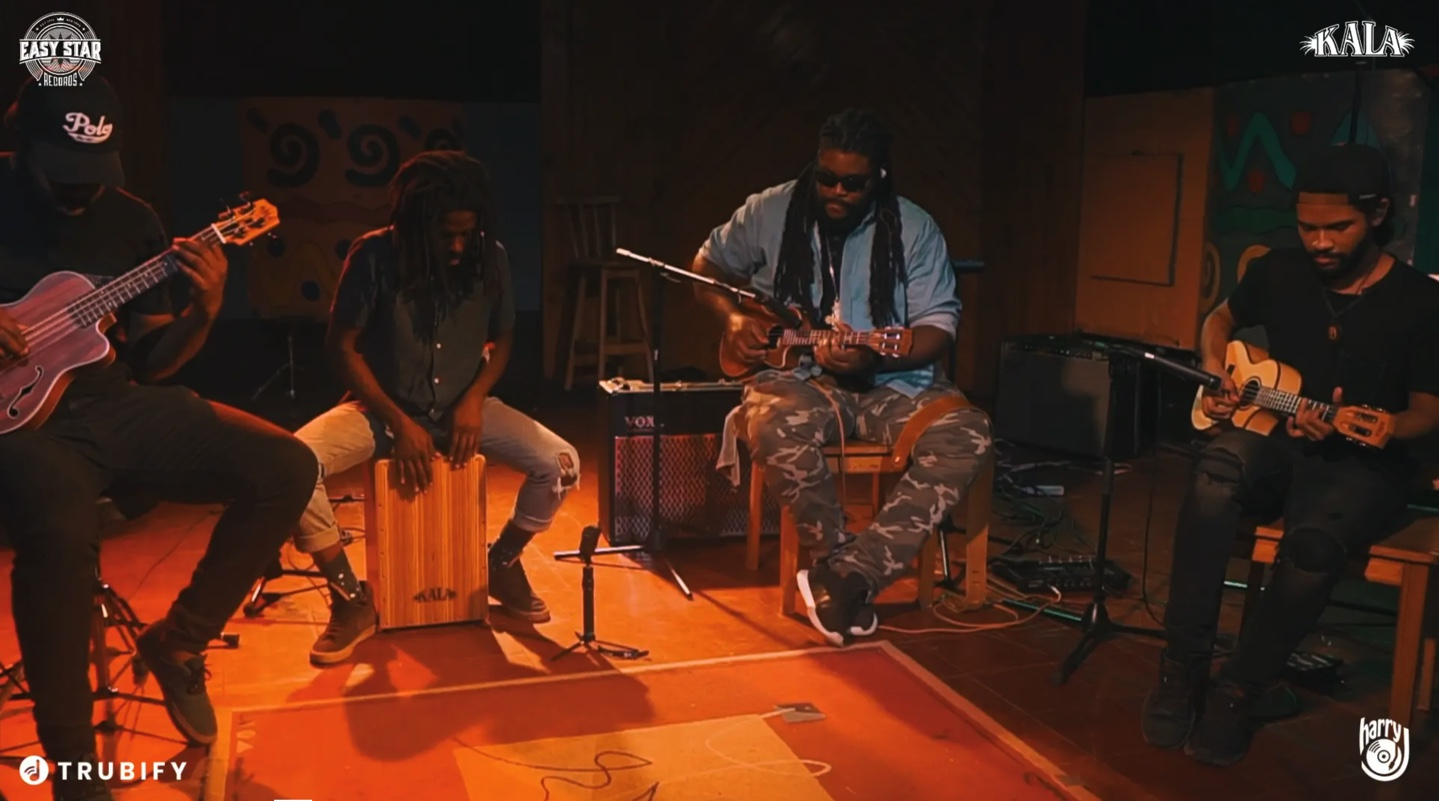 EASY STAR RECORDS AND KALA BRAND MUSIC FIRST U•BASS® TO JAMAICA'S HARRY J STUDIO